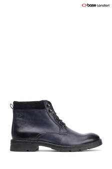 Base London® Blue Panzer Washed Work Boots
