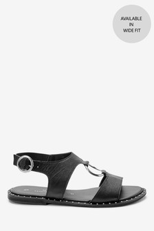 Ring Hardware Sandals