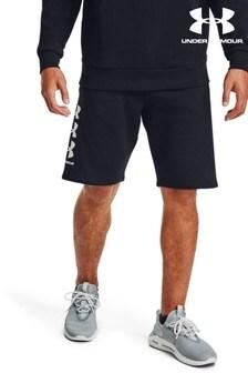 Under Armour Rival Fleece Multi Logo Shorts