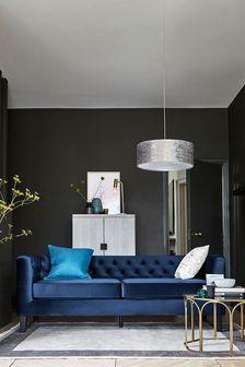 Elsie Large Sofa With Black Feet