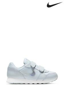 Nike White Iridescent MD Runner Junior Trainers