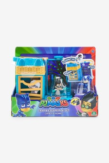 PJ Masks Nighttime Micros Trap & Escape Catboy vs. Romeo Playset