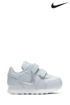 Nike White Iridescent MD Runner Infant Trainers
