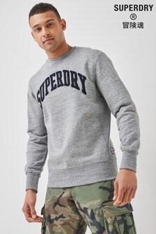 Superdry Sport True Varsity Crew Neck Sweatshirt