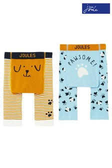 Joules Lively Character Leggings Two Pack