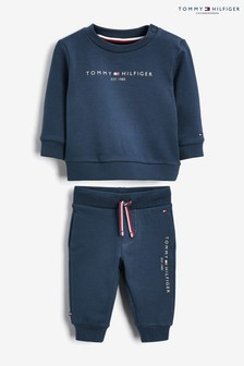 Tommy Hilfiger Baby Boys Navy Cotton Tracksuit