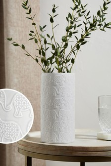 Grey Vases Grey Ceramic Glass Vases Next Uk