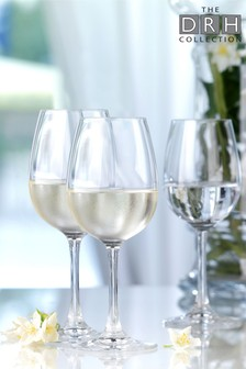 Set of 6 Wine Glasses By The DRH Collection
