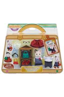 Sylvanian Families Fashion Set Town Girl Series - Tuxedo Cat