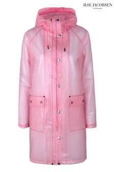 Ilse Jacobsen Pink Raincoat