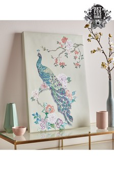Pretty Peacock Wall Art by Art For The Home