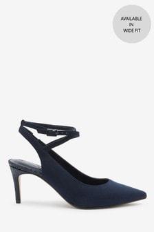Ankle Strap Slingbacks