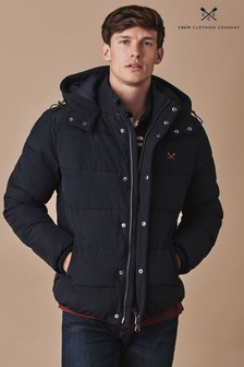 Crew Clothing Company Blue Chancellor Jacket