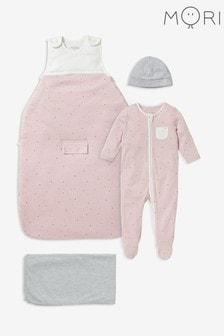 MORI Pink Clever Sleep Set