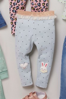 Embroidered Leggings (3mths-7yrs)