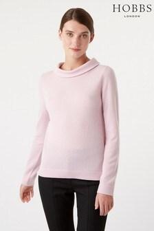Hobbs Pastel Pink Audrey Sweater