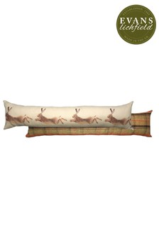 Evans Lichfield Hunter Leaping Hare Draught Excluder