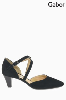 Gabor Callow Black Suede Shoes