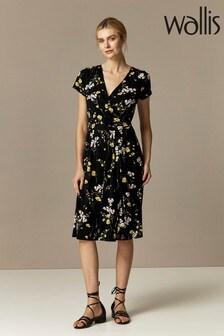 Wallis Meadow Flower Wrap Dress