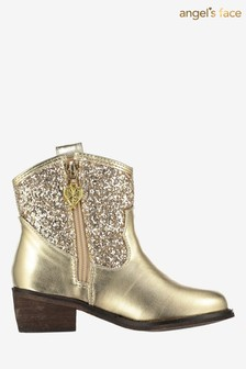 Angel's Face Gold Tammy Boots