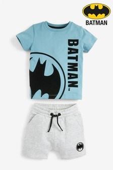 Batman T-Shirt And Shorts Set (3mths-8yrs)