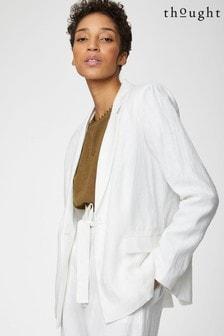 Thought White Ellena Jacket