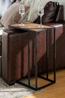 Banbury Designs Mocha Modern End Table