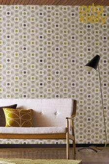 Orla Kiely Multi Striped Petal Wallpaper