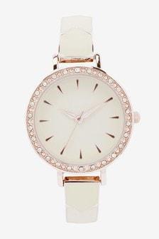 Enamel Detail Bracelet Watch
