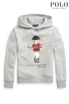 Ralph Lauren Grey Bear Hoodie