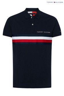 Tommy Hilfiger Global Stripe Slim Polo