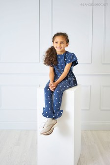 Angel & Rocket Blue Spot Leggings
