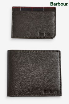 Barbour® Wallet/Cardholder Gift Set