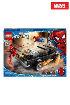 LEGO 76173 Marvel Spider-Man & Ghost Rider vs. Carnage Toy