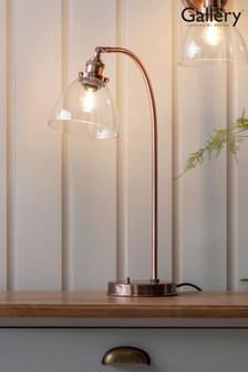Bartley Antique Copper Table Lamp by Gallery Direct