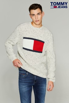 Tommy Jeans Large Flag Sweater
