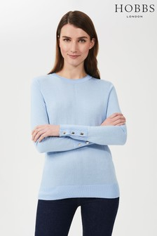 Hobbs Blue Morgan Sweater