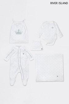 River Island Ecru New Baby Bundle Pack