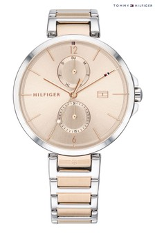 Tommy Hilfiger Two Tone Stainless Steel Watch