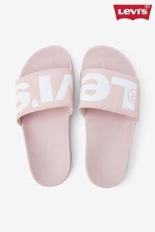 Levi's® Pink Logo Sliders