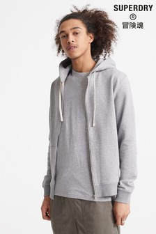 Superdry Organic Cotton Standard Label Zip Hoody