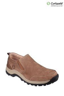 Cotswold Tan Sheepscombe Slip-On Shoes