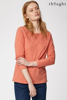 Thought Pink Lorraine Top