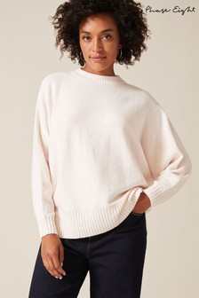 Phase Eight Pink Palmer Soft Boxy Knit Jumper