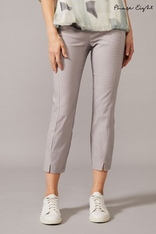 Phase Eight Grey Louise Crop Skinny Trousers