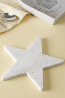 Star Shaped Marble Trivet