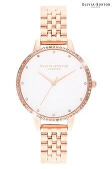 Olivia Burton Rainbow Bezel Bracelet Watch