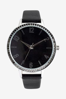 Ombre Sparkle Strap Watch