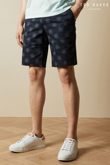 Ted Baker Warry Geo Print Shorts