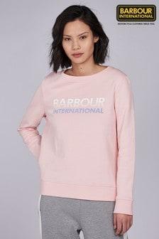 Barbour® International Pale Pink Spitfire Sweatshirt